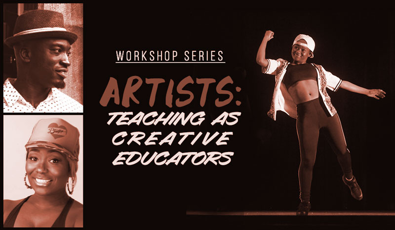 "Asase Yaa launches ""Artists: Teaching as Creative Educators,"" Arts Outreach four-day workshop series July 9-12 at Arts Eny"